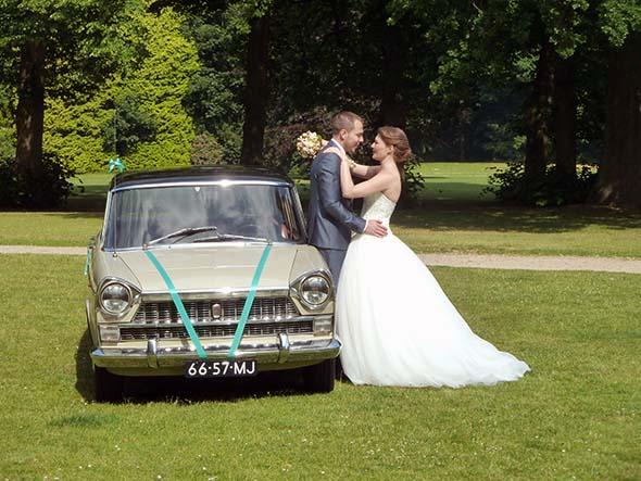 v.l.n.r. Fiat 1800B, Menno, Renske